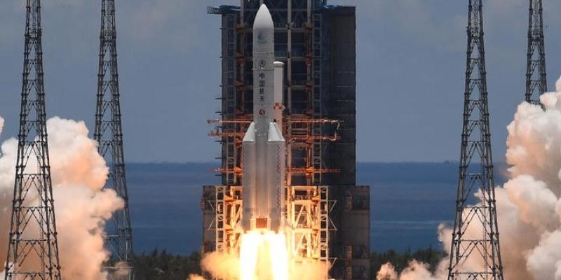 Tianwen-1, China's big Long March 5 rocket sent to Mars